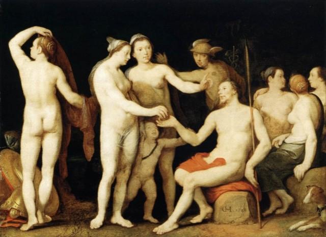 Картина Суд Париса, Питер Пауль Рубенс, 1639
