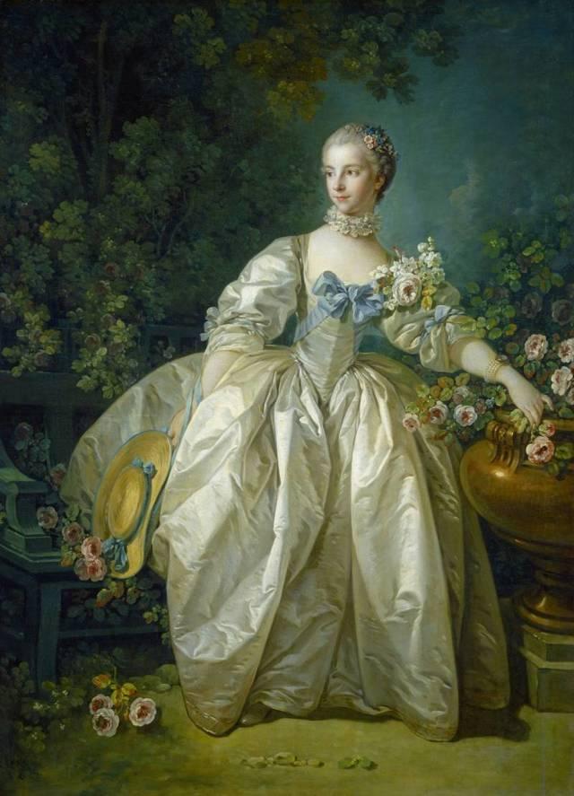 Портрет мадам Бержере, Франсуа Буше, 1766