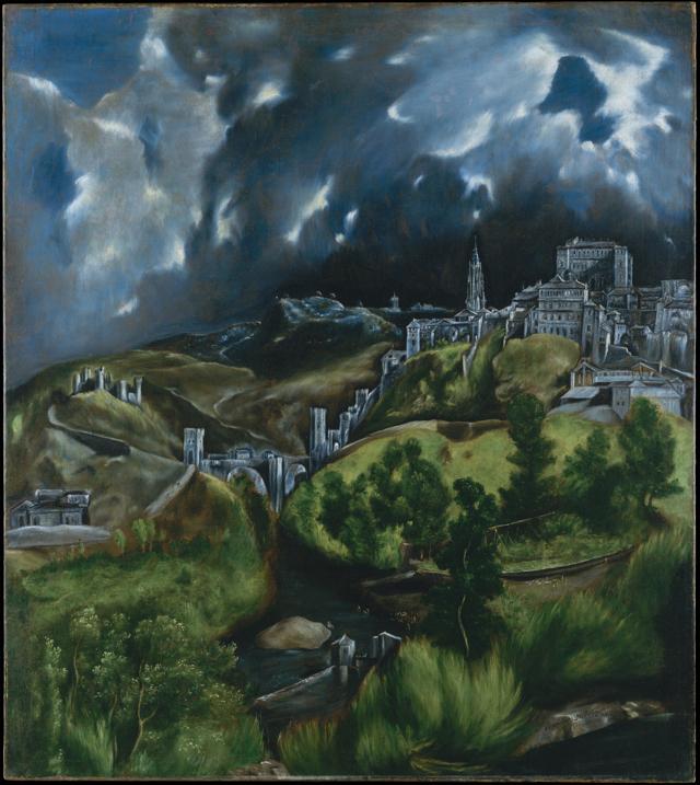 Вид Толедо, Эль Греко, около 1600