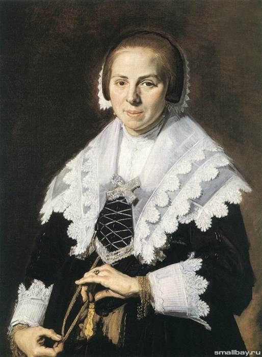 Портрет пожилой дамы, Франс Хальс — описание