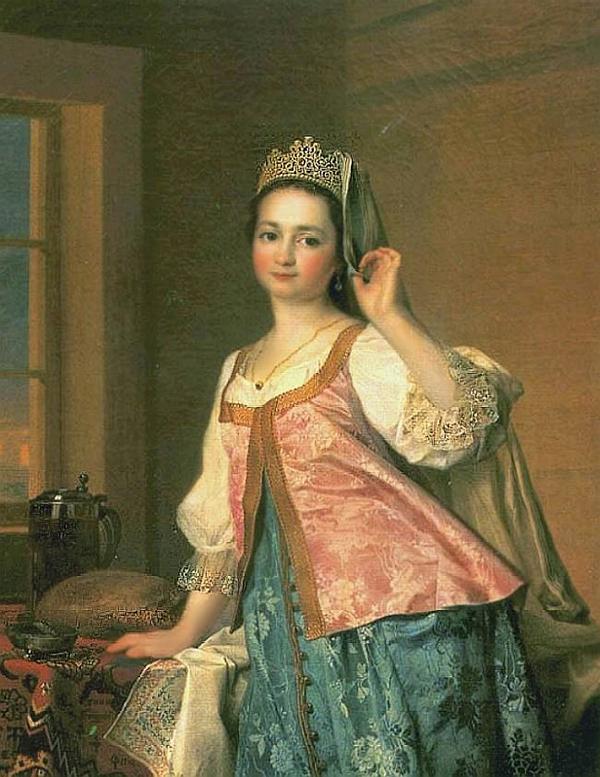 Портрет П. А. Демидова, Левицкий — описание