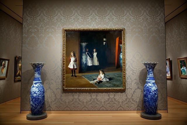 «Дочери Эдварда Дарли Бойта», Джон Сингер Сарджент — описание картины