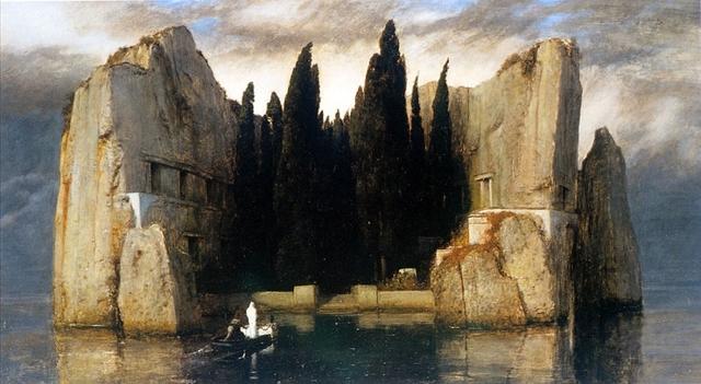 Украденное зеркало, Макс Эрнст - описание картины