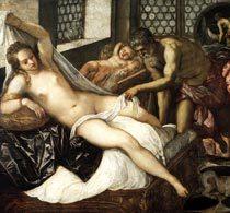 «Распятие», Тинторетто — описание картины