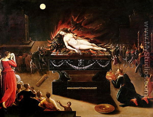 Явление Сивиллы императору Августу, Парис Бордоне