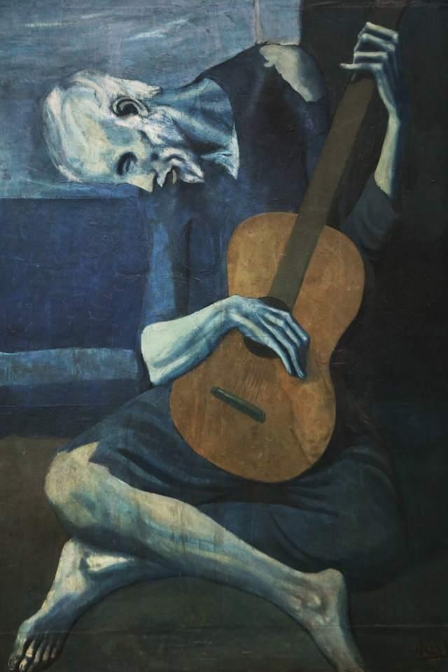 Женщина, сидящая в кресле, Пикассо, около 1910