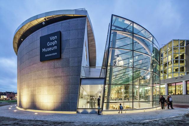 Музей Ван Гога в Амстердаме, Голландия