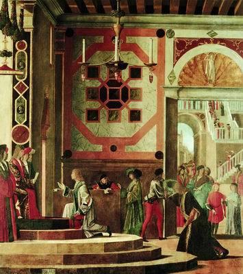 Отъезд обрученных, Витторе Карпаччо, 1495