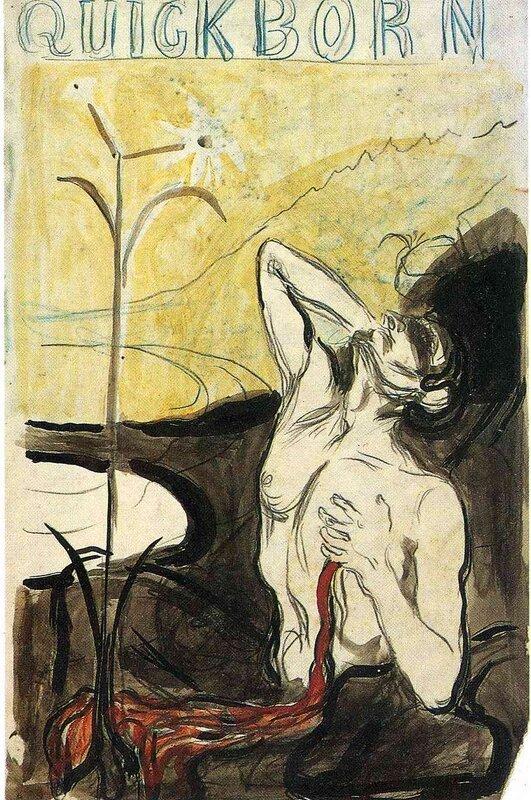 «Меланхолия», Эдвард Мунк — описание картины