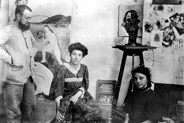 Картина Женщина в шляпе, Анри Матисс, 1905