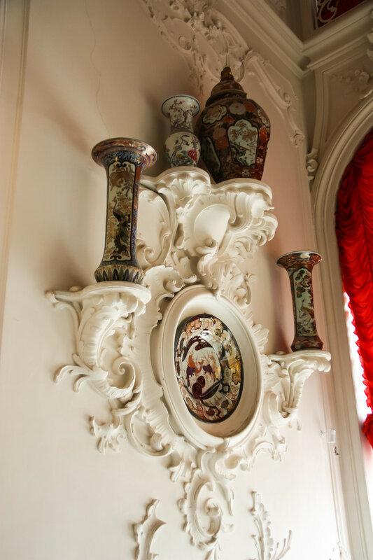 Екатерининский дворец - его залы и комнаты, Россия, Пушкин