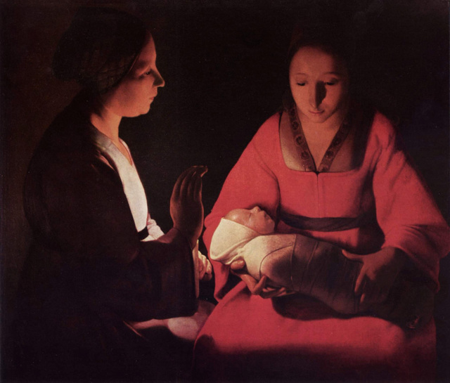 Кающаяся Магдалина - Жорж де Латур