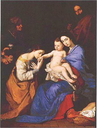 «Детство Мадонны», Франсиско Сурбаран — описание картины