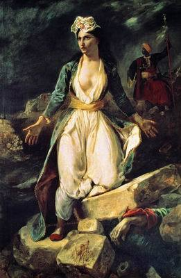 Резня на Хиосе, Эжен Делакруа, 1824