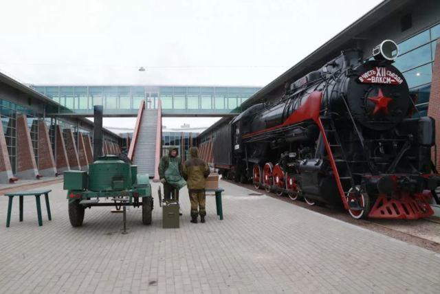 Железнодорожный музей - Санкт-Петербург