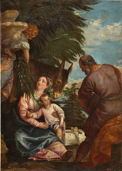 Святое семейство с маленьким Иоанном Крестителем (Мадонна Строганова), Аньоло Бронзино