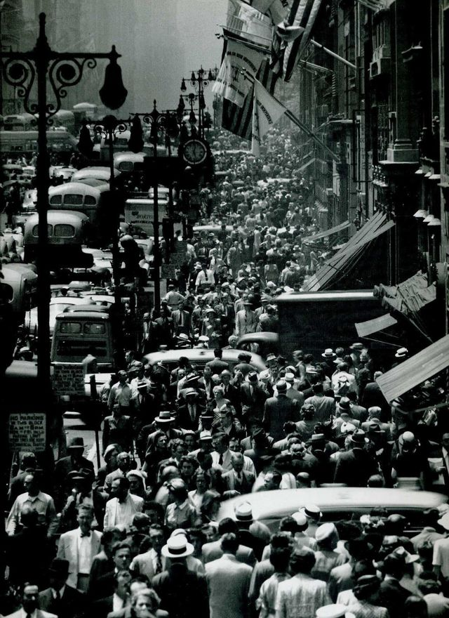 Авеню, Лионель Фейнингер, 1915
