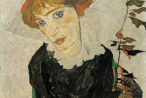 Агония, Эгон Шиле, 1912