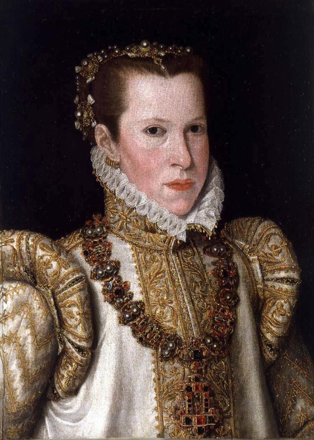 Портрет Марии Тюдор, Антонис Мор (Моро) ван Дасхорст, 1554