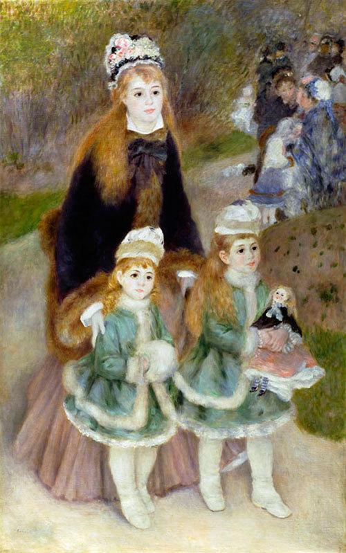 Портрет мадам Шарпантье с детьми, Пьер Огюст Ренуар, 1878