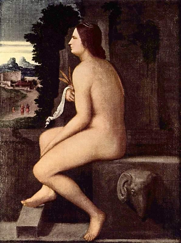 «Лаура», Джорджоне — описание картины