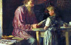 «Семейный раздел», Максимов — описание картины