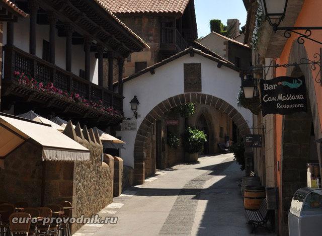 Музей «Испанская деревня», Испания, Барселона