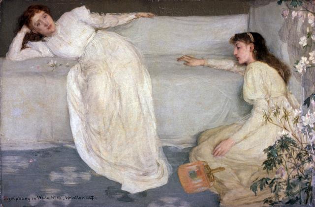 Симфония в белом № 1, 1862, Джеймс Майкл Уистлер
